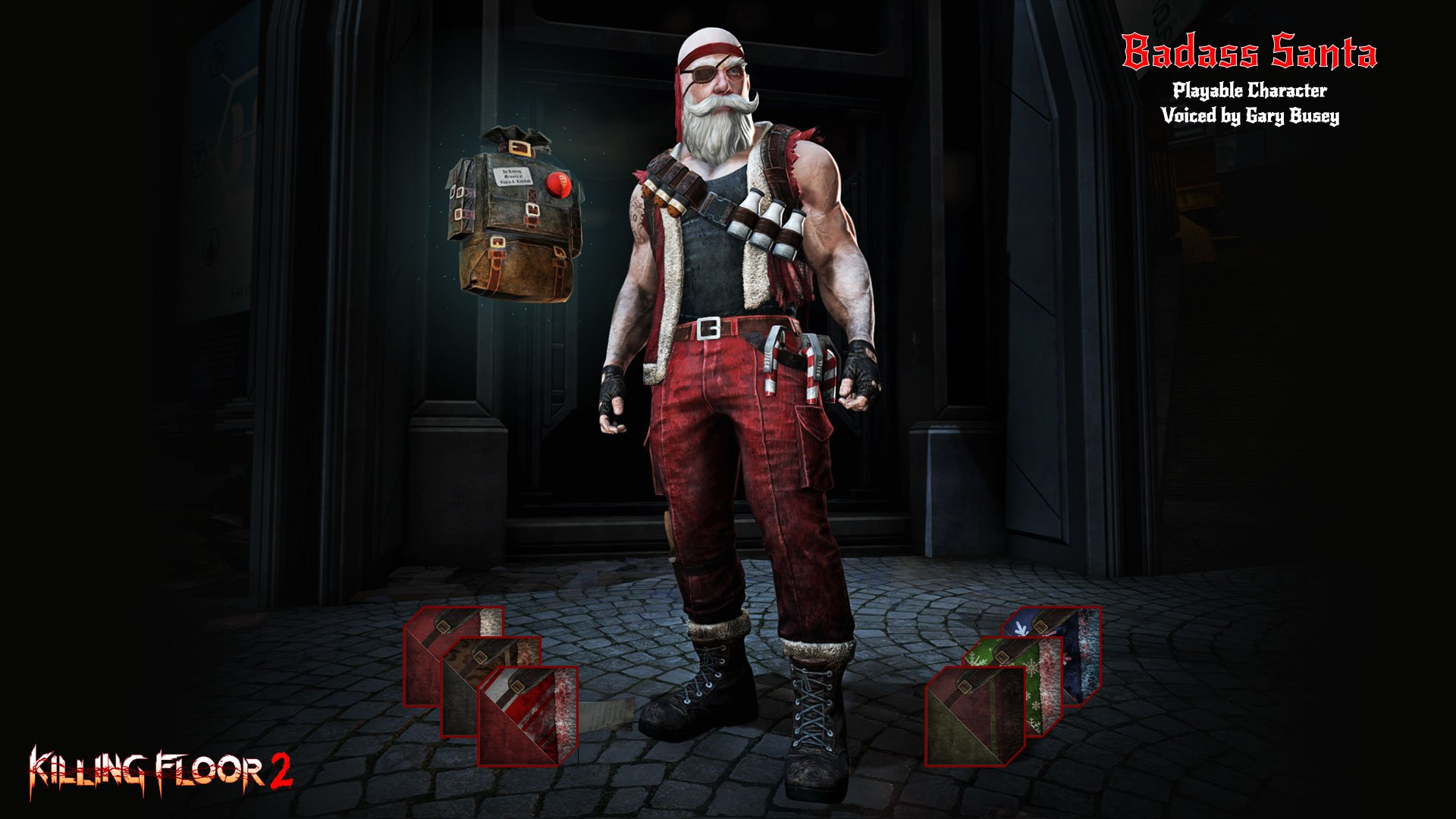 Killing Floor 2 celebrates \'Twisted Christmas\' with Gary Busey in ...