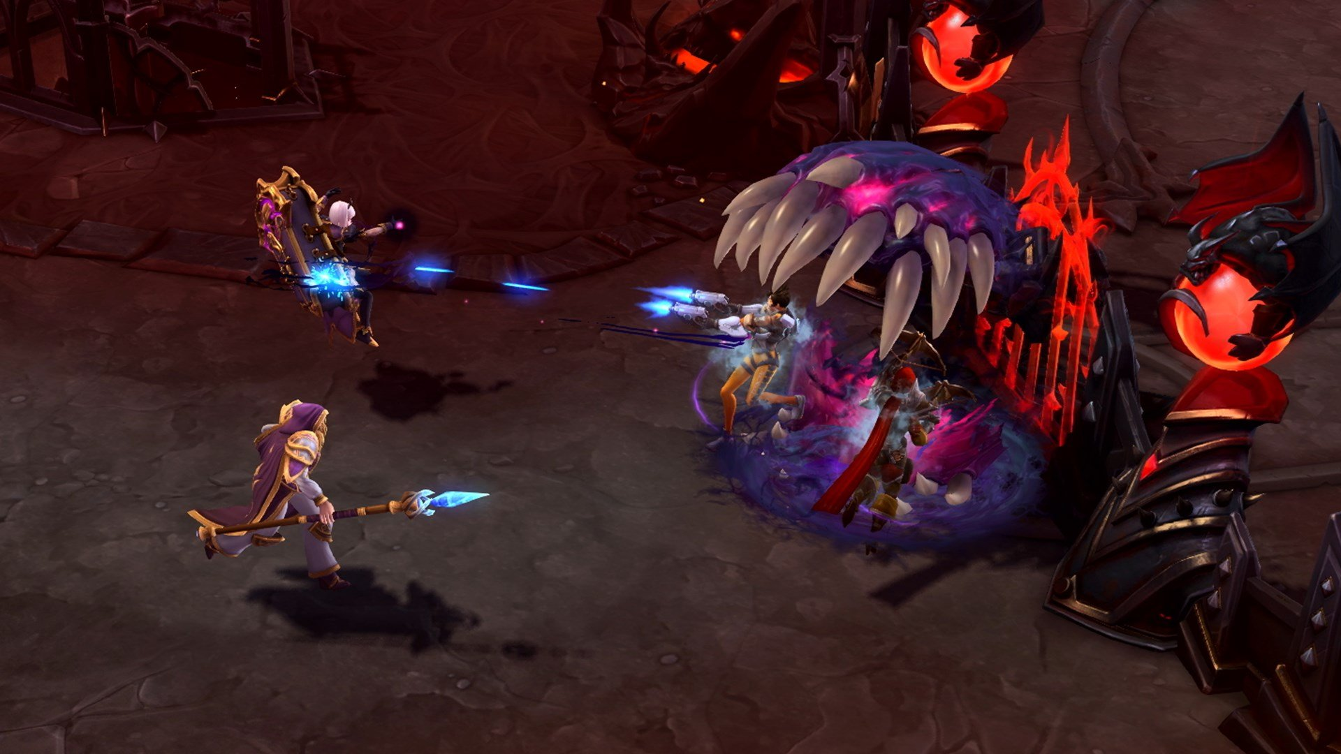 Heroes of the storm blizzcon interview discusses orphea - Heroes of the storm space lord leoric ...