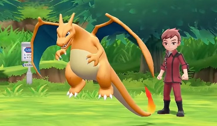 how to change names in Pokemon Let's Go