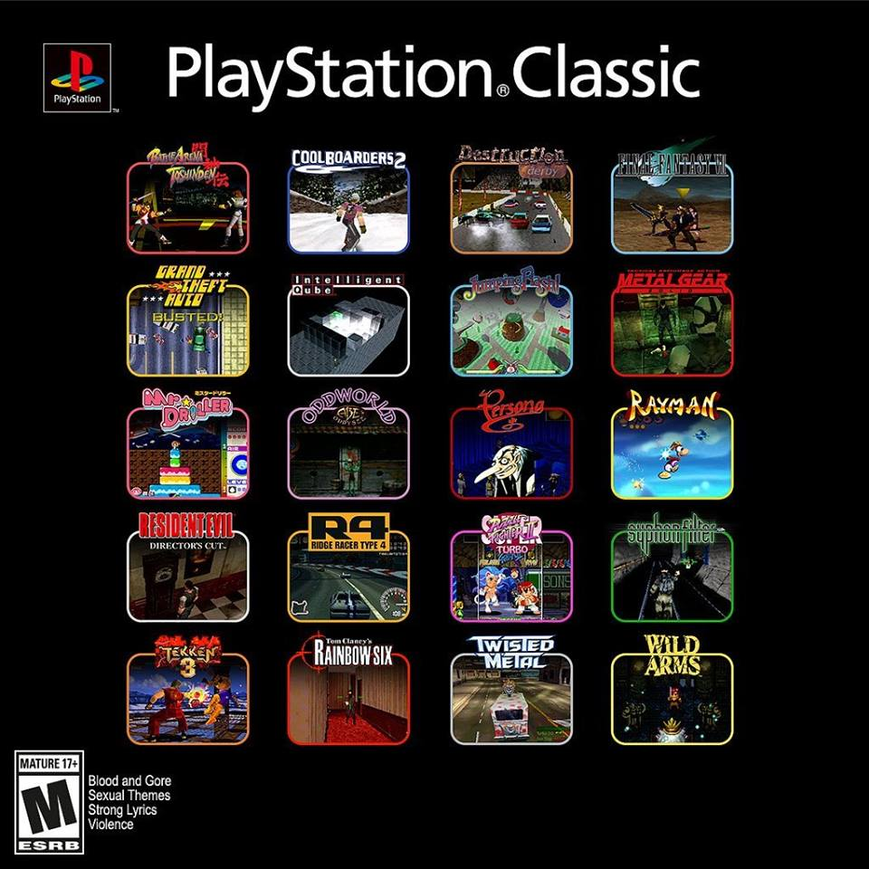 Playstation Psclassic Sony Retrogaming Pic – Global Violins