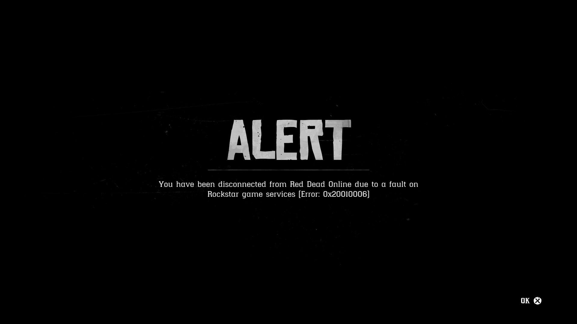 Red Dead Online error 0x20010006 fix | Shacknews