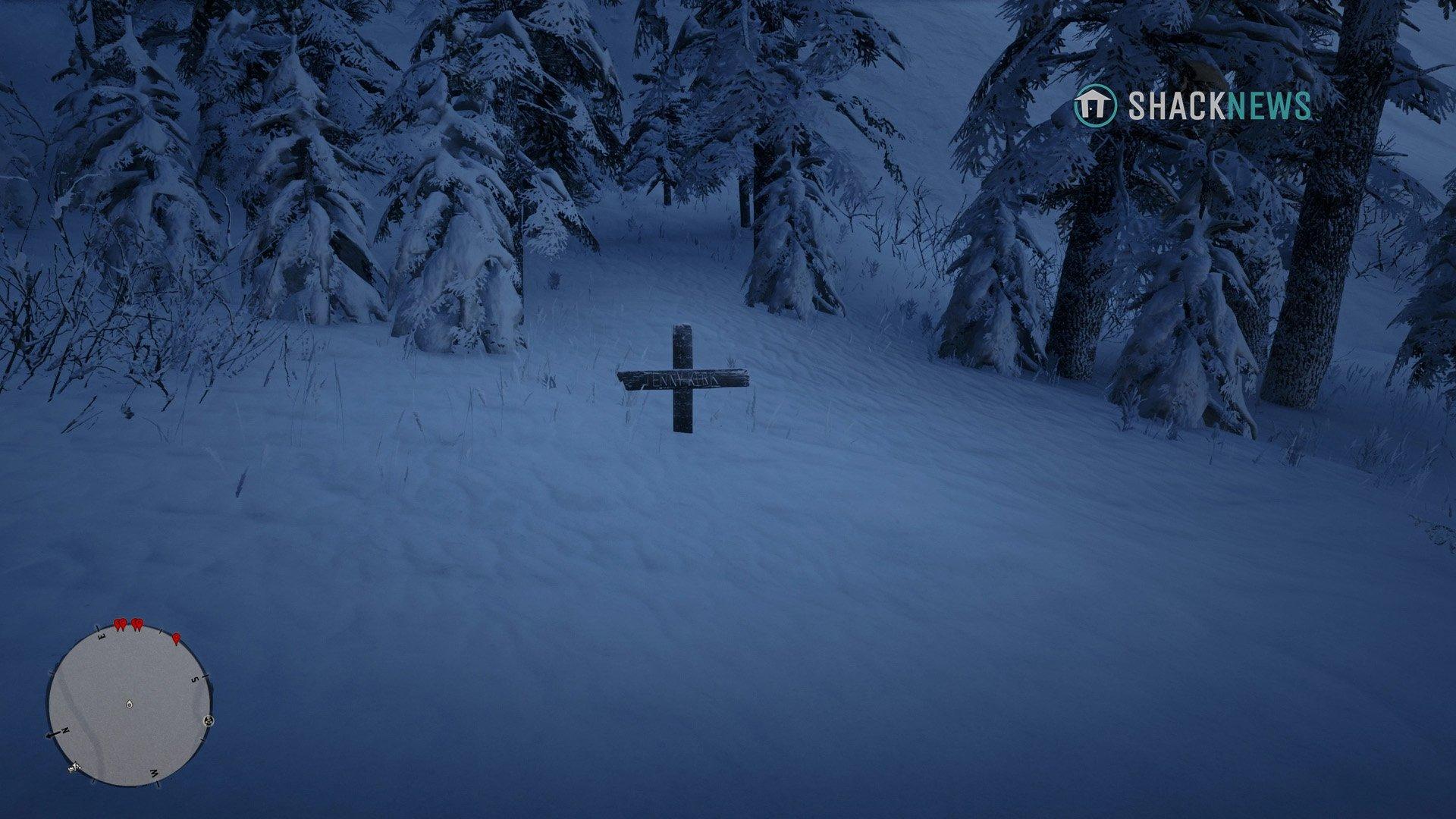 Jenny Kirk grave location - RDR2