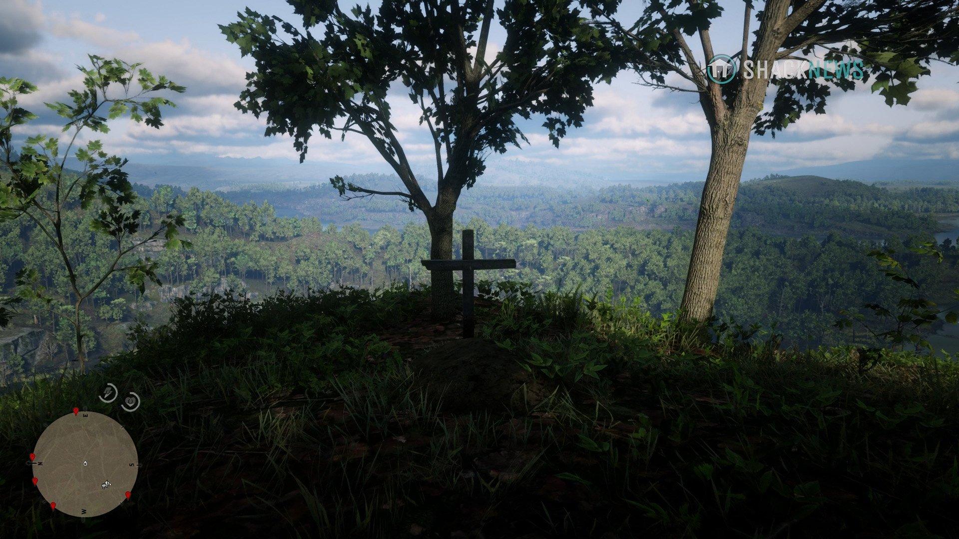 Miss Susan Grimshaw's grave location