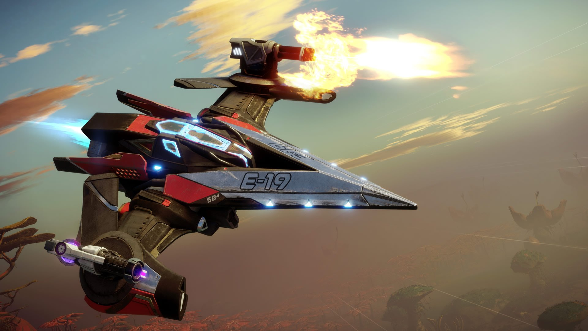 The Lance is among Starlink's most agile ships.
