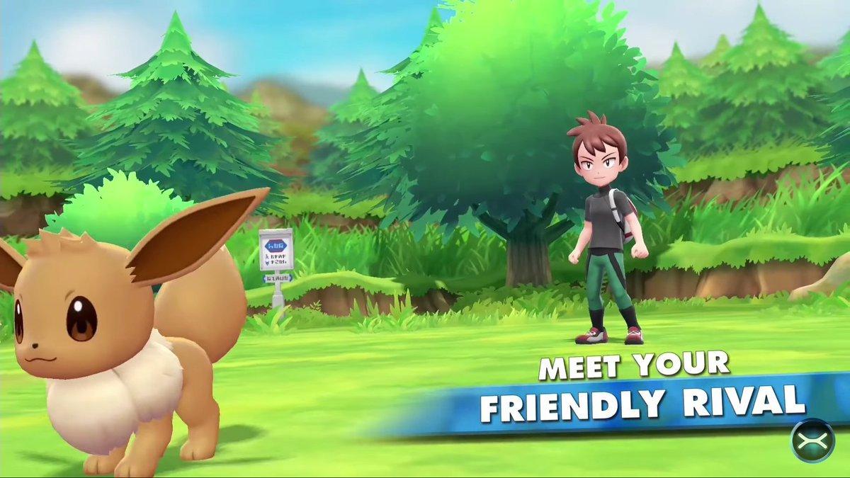 Pokemon Let's Go Friendly Rival