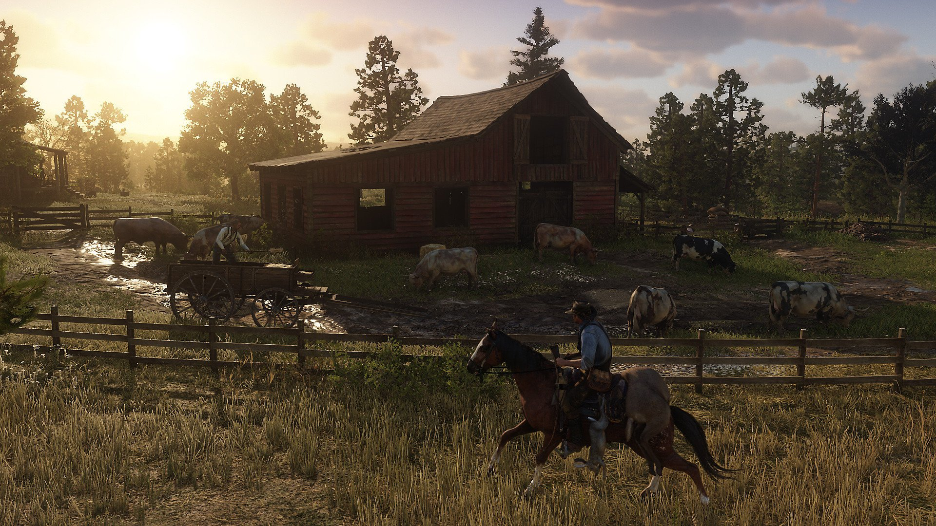 red dead redemption 2 farm screenshot