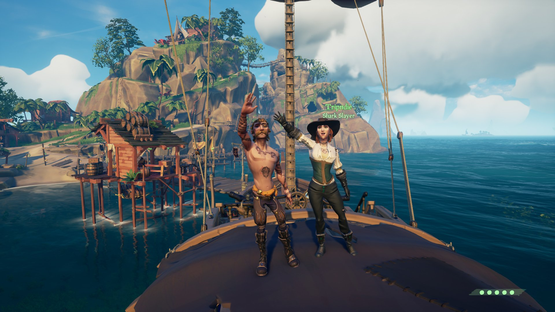 Sea of Thieves non-narrative story