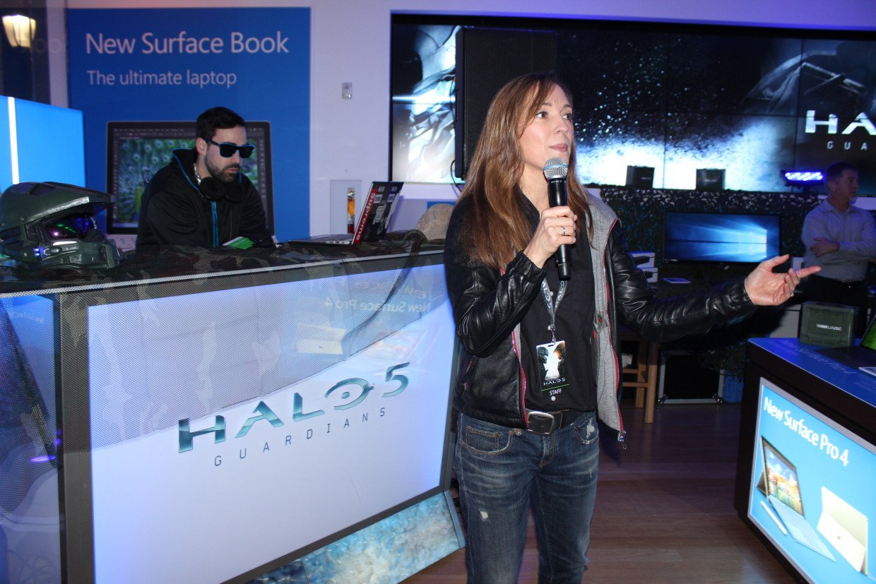 Bonnie Ross Halo 343 Industries