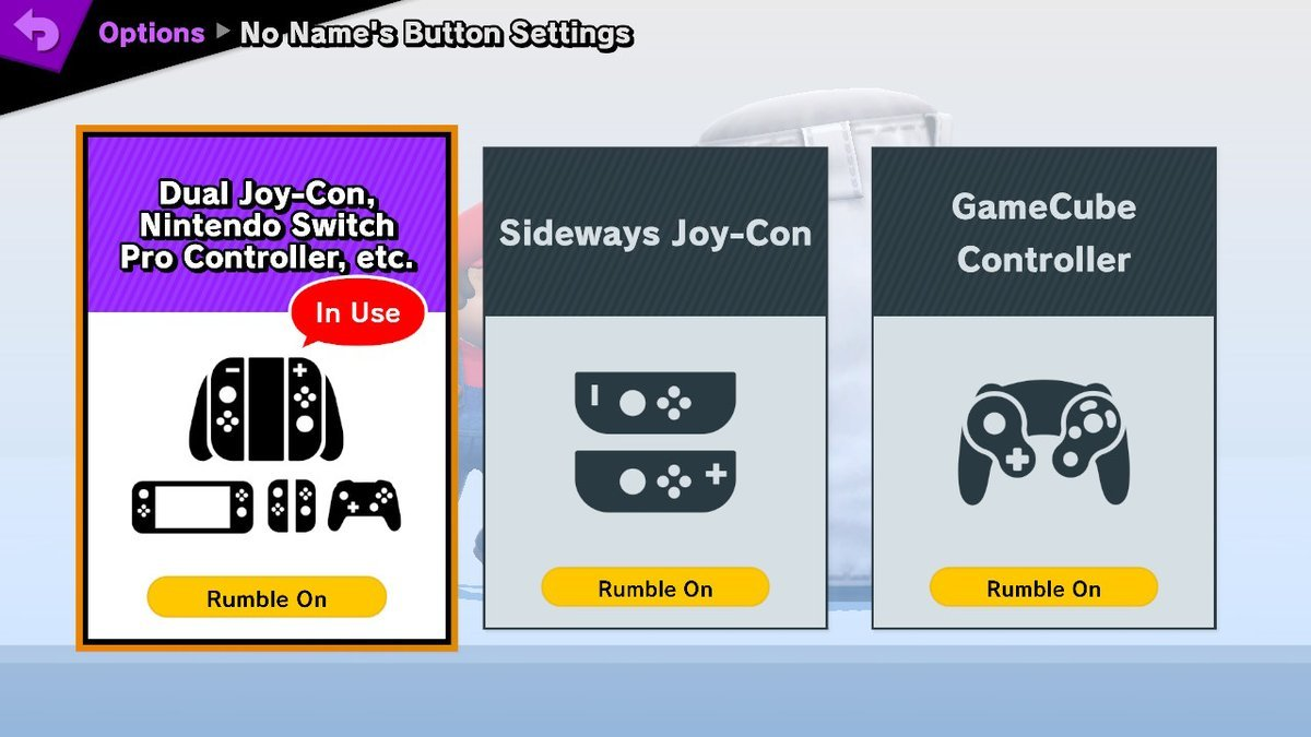 super smash bros ultimate buttons