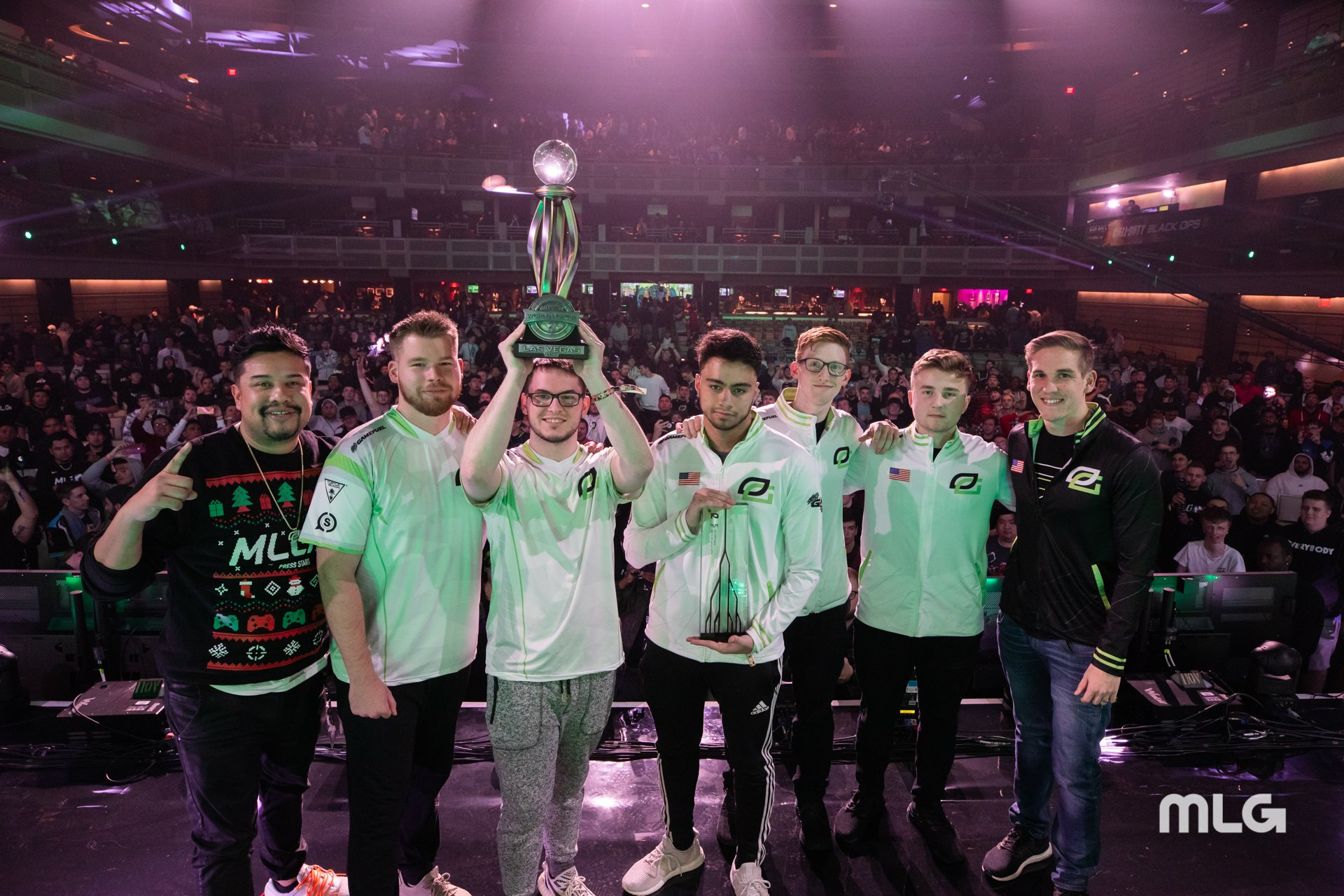 2019 CWL Las Vegas winners OpTic Gaming