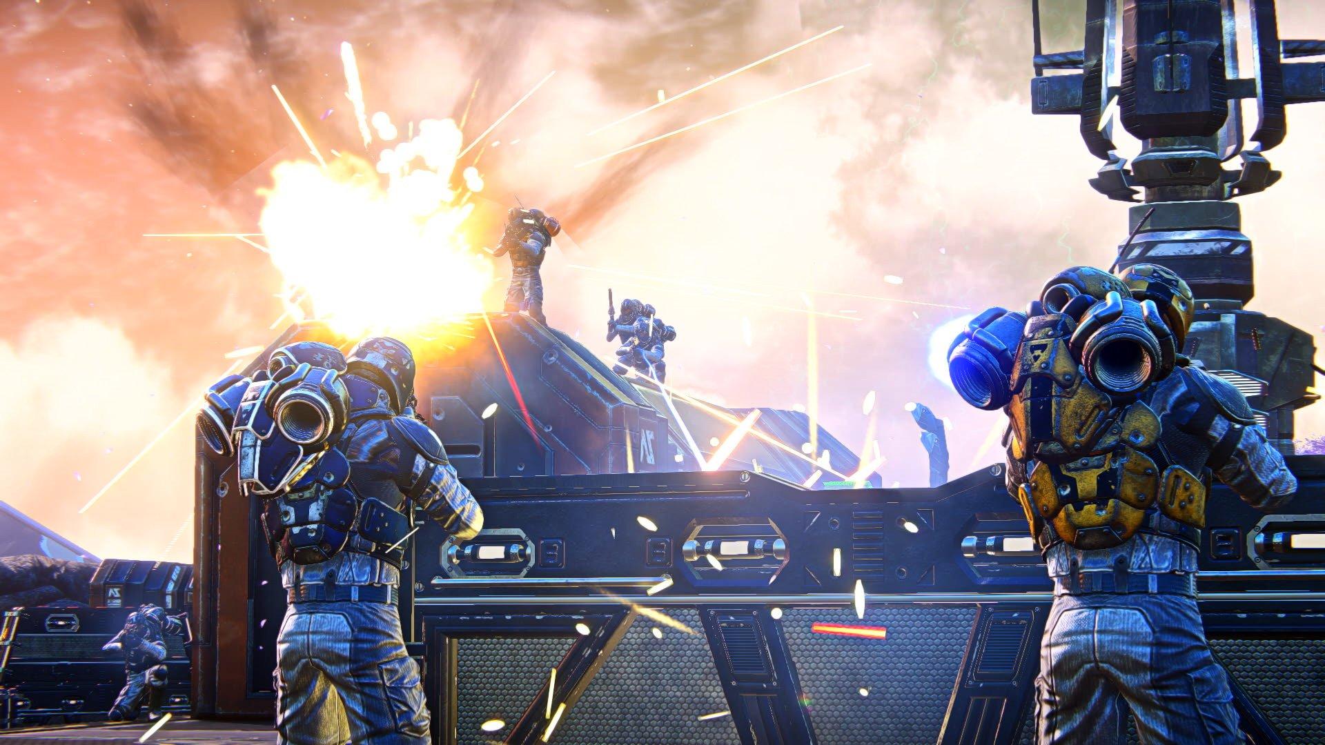 PlanetSide Arena battle royale shooter