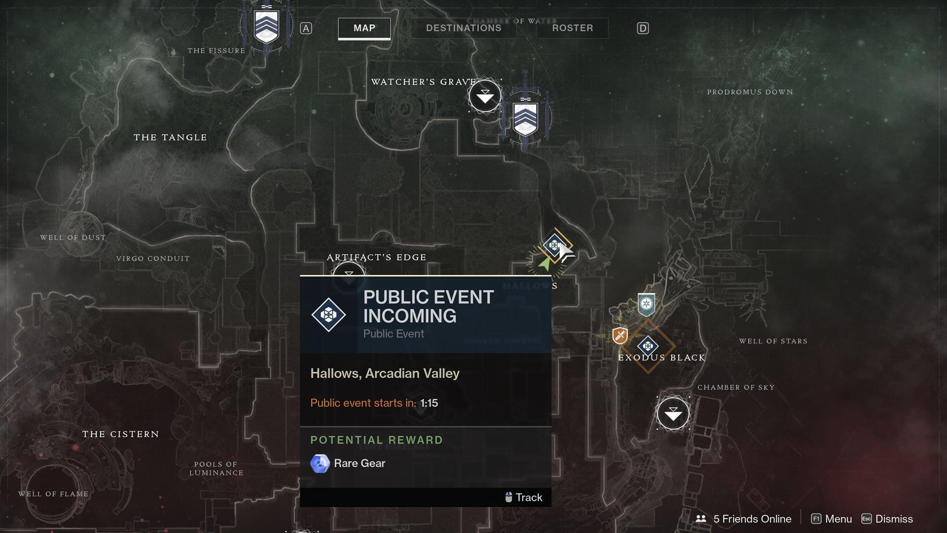 destiny 2 unlock inazami forge map hallows