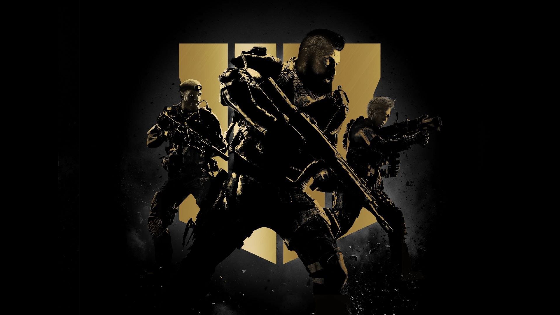 Call of Duty Black Ops 4 promotional art