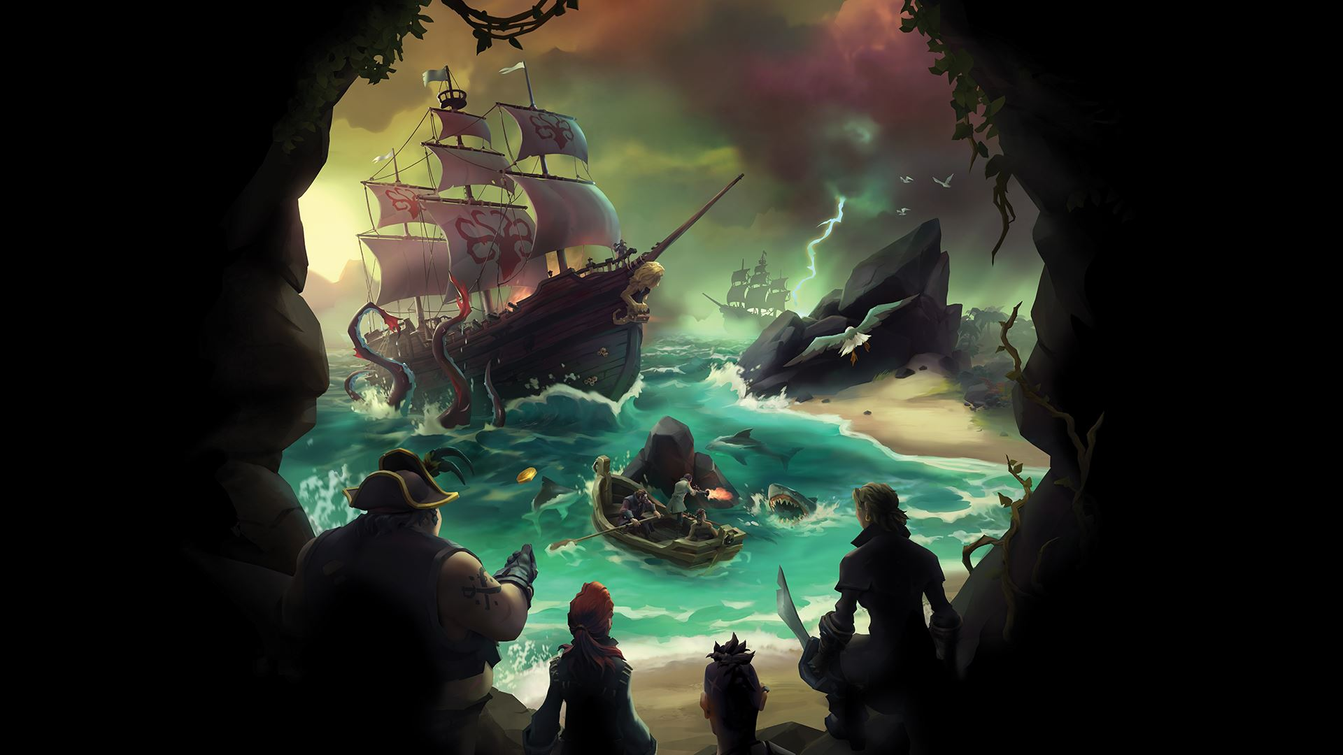 Sea of Thieves Promotional Art