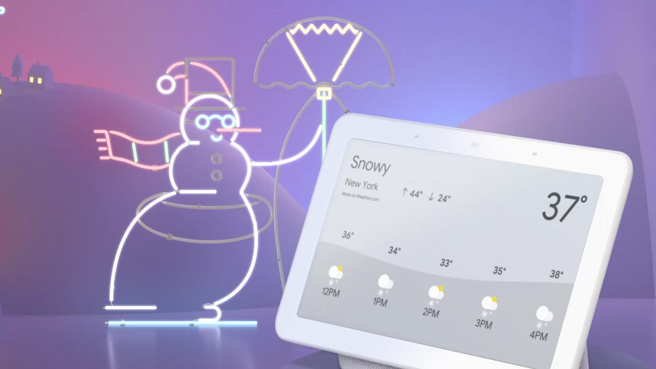 holiday gift guide 2018 android google assistant ai home hub mini