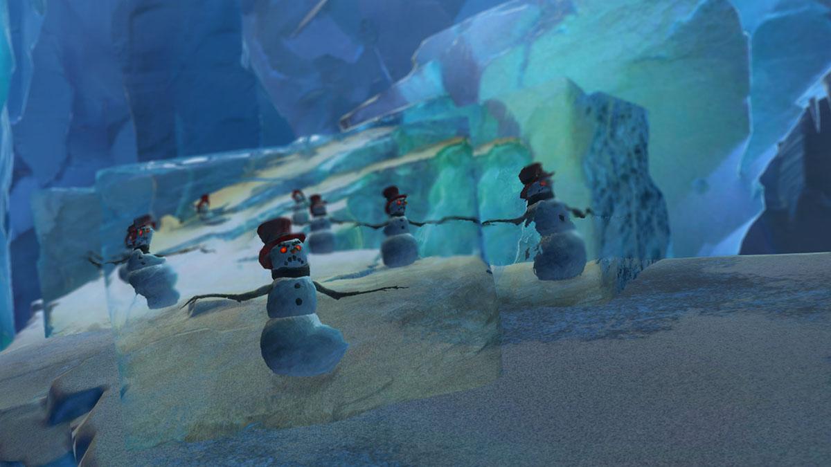 Guild Wars 2 Wintersday snowmen