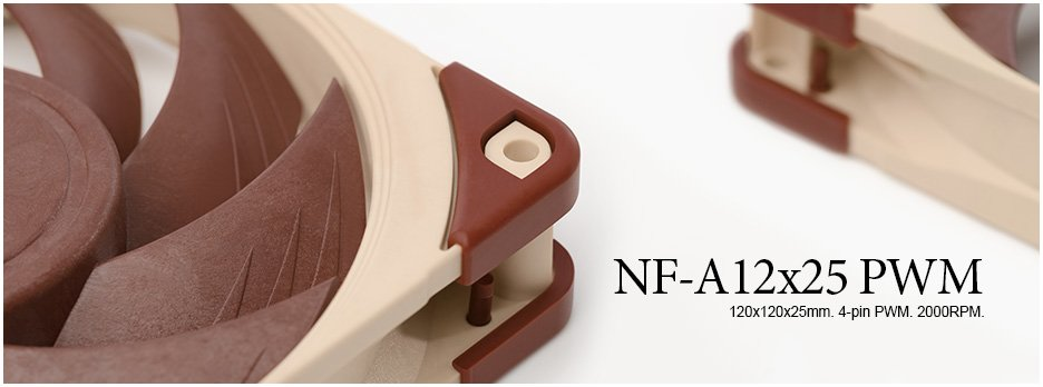 The Noctua NF-A12x25 PWM 120mm Fan is our Shacknews Best Gaming Accessory of 2018.