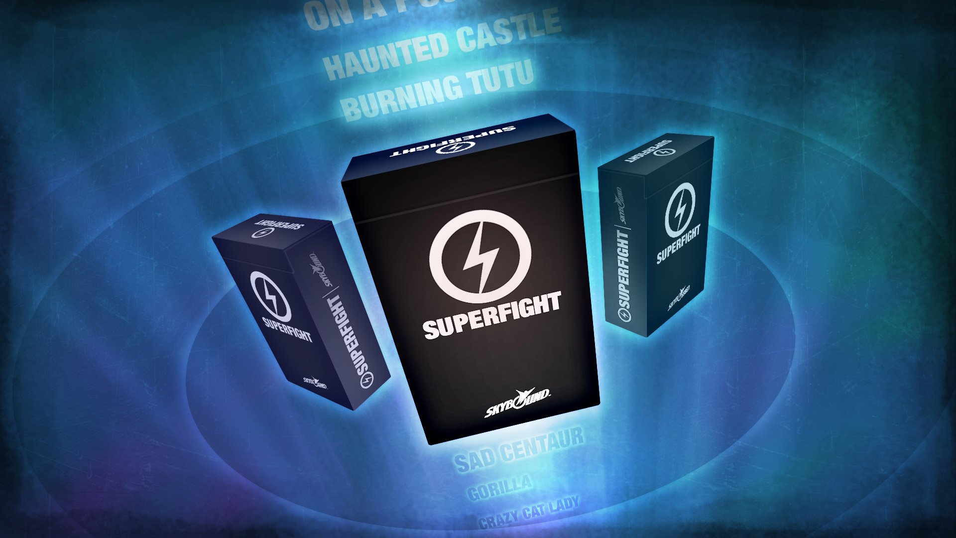 superfight card game promotional image