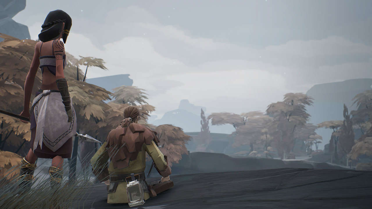 In Ashen, NPCs can be controlled by AI or human players.