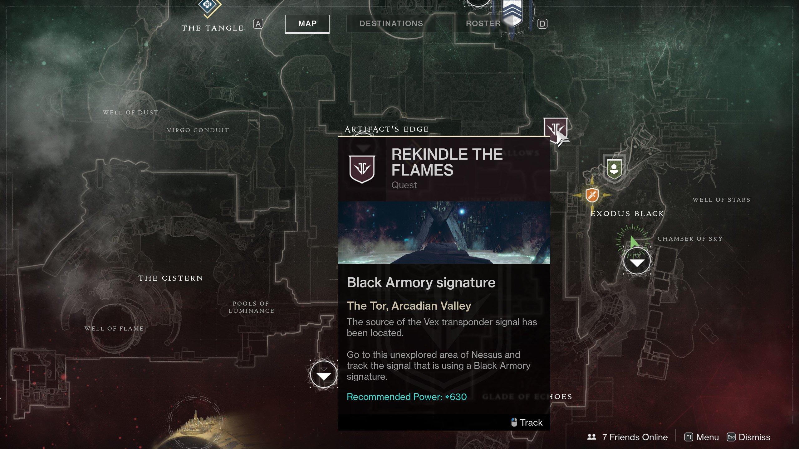 Rekindle the Flames Mission Izanami Forge Destiny 2