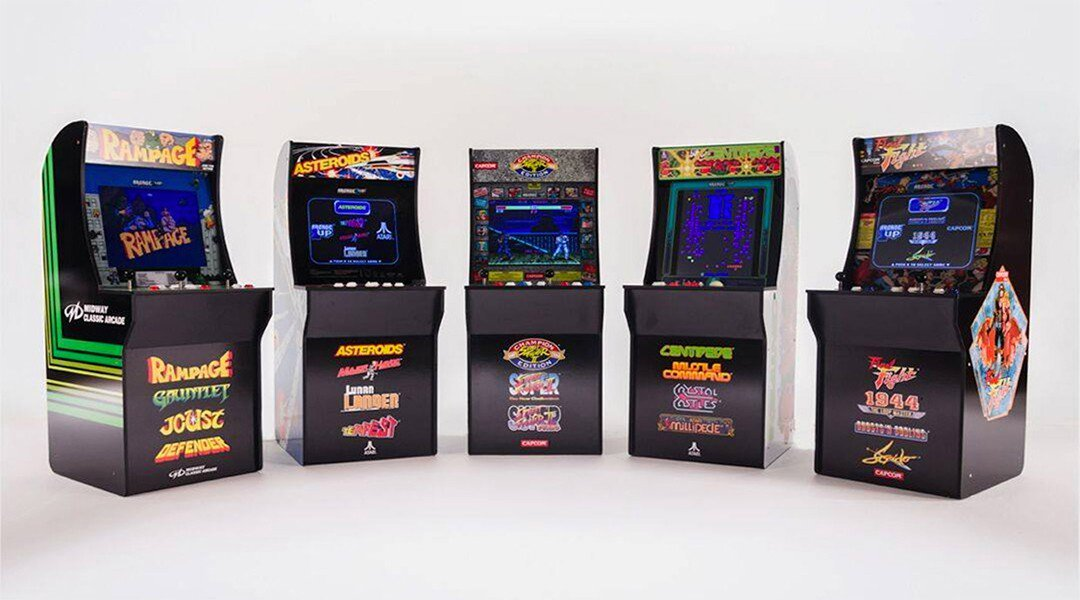 arcade one up cabinet showcase
