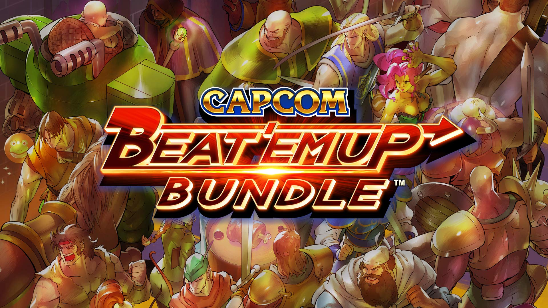 capcom beat em up bundle cover art