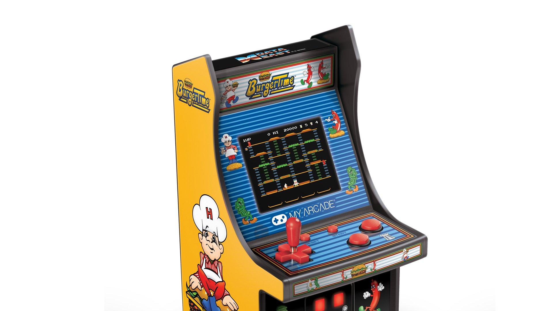 My Arcade Burgertime Mini Cabinet