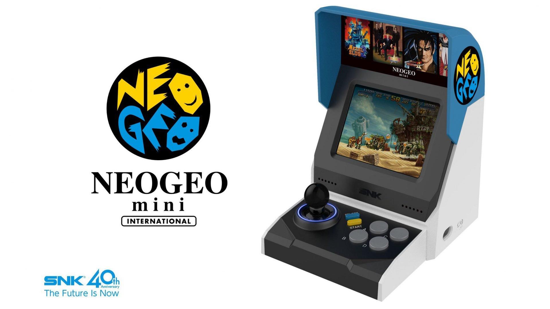 neo geo mini promo image