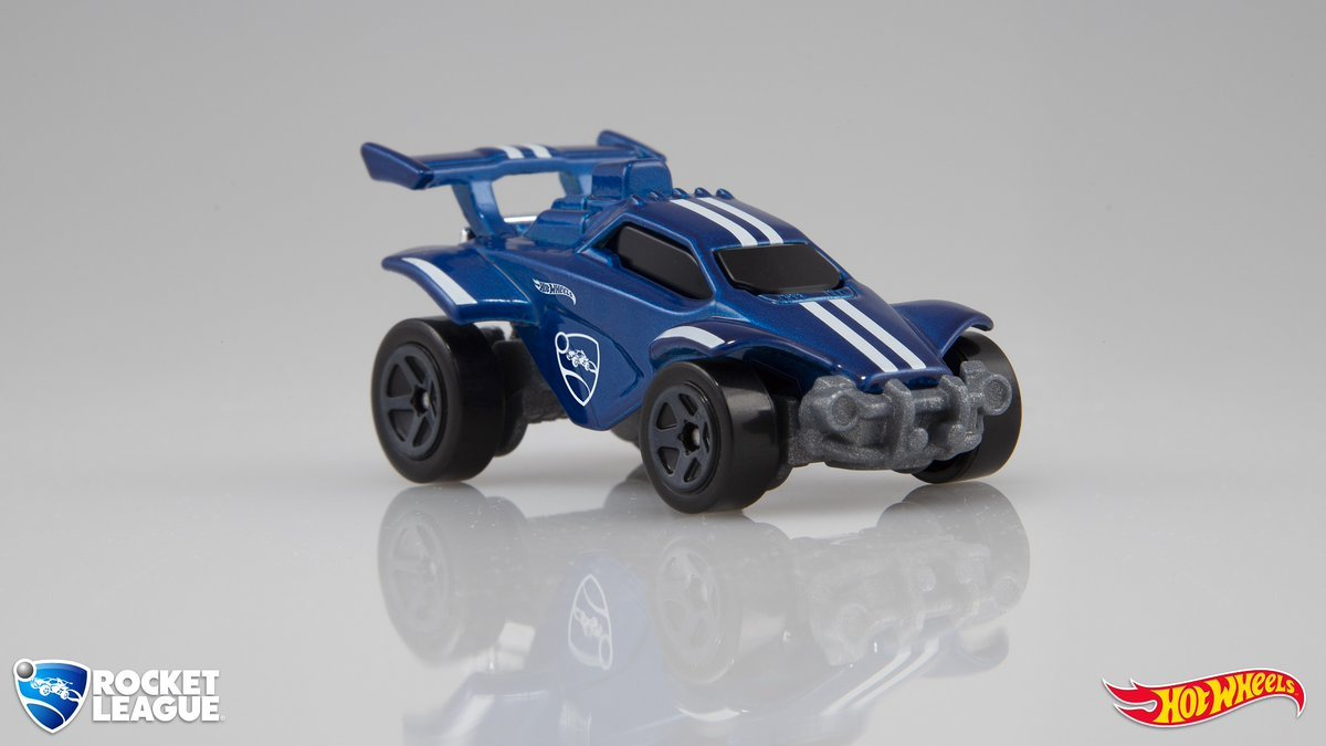 Rocket League Hot Wheels Car Blue