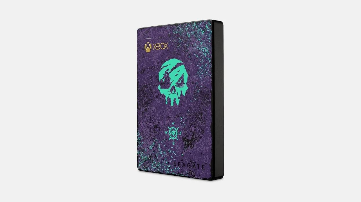 Xbox One X Sea of Thieves external harddrive