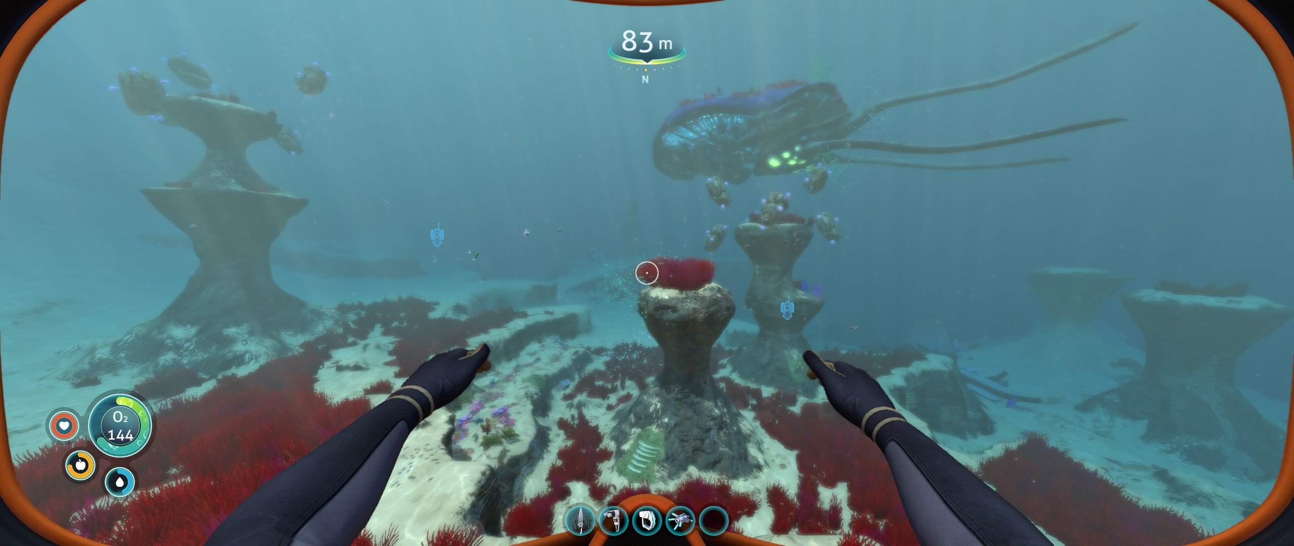 Shacknews Best PC Game 2018 Subnautica underwater