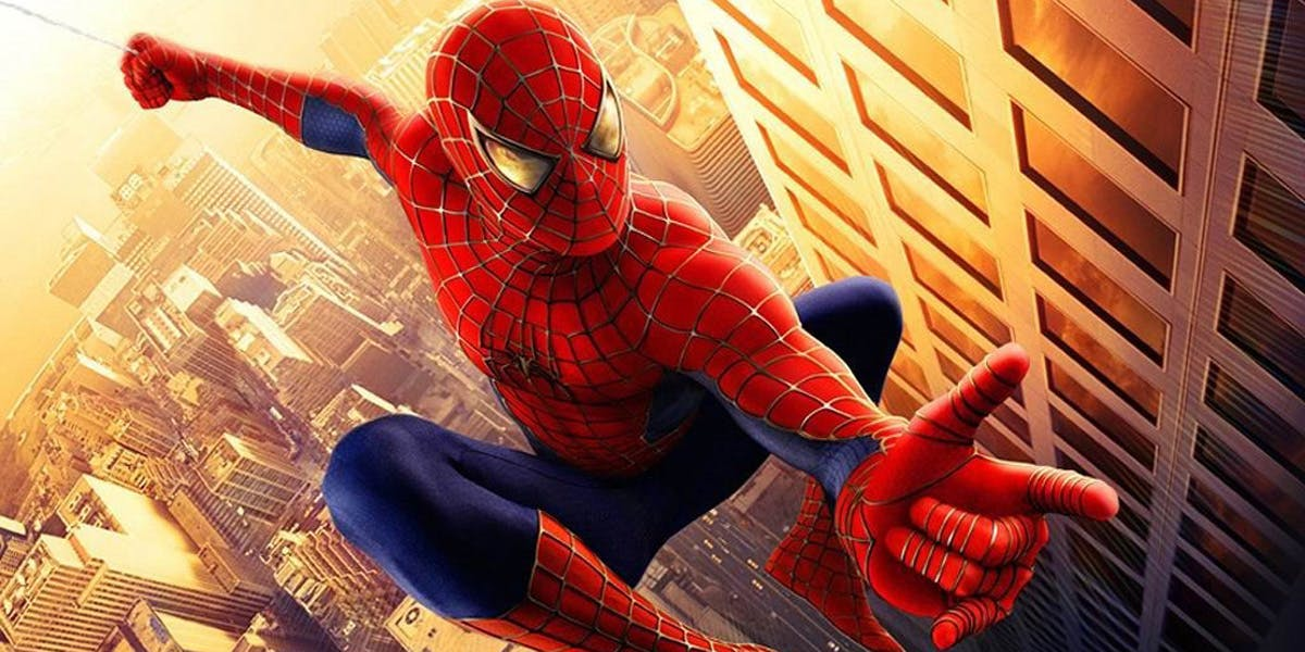 Get your Tobey Maguire on in Spider-Man with the 2002 suit