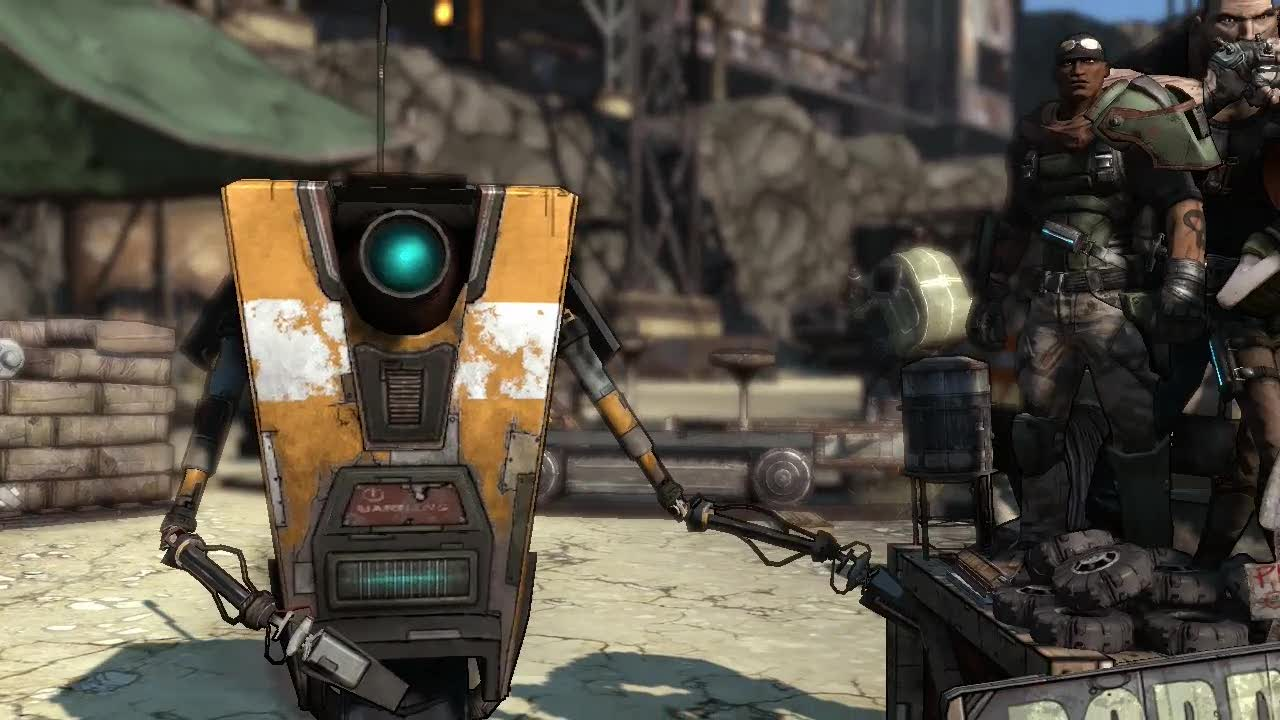 Borderlands 2 Claptrap Screenshot