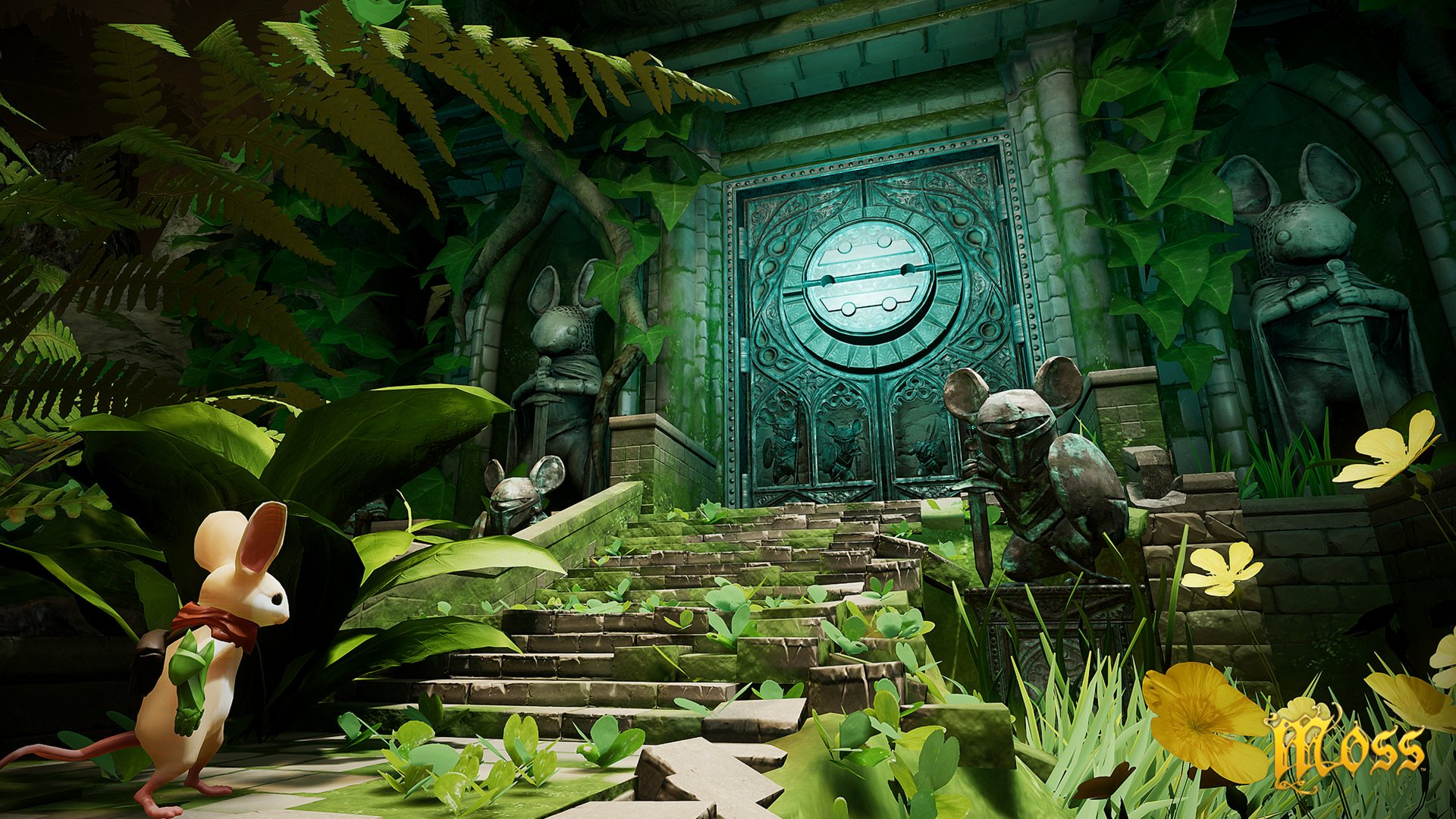 moss video game screenshot