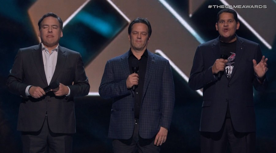 If Geoff Keighley can bring these three together, we need to send him to the Middle East.