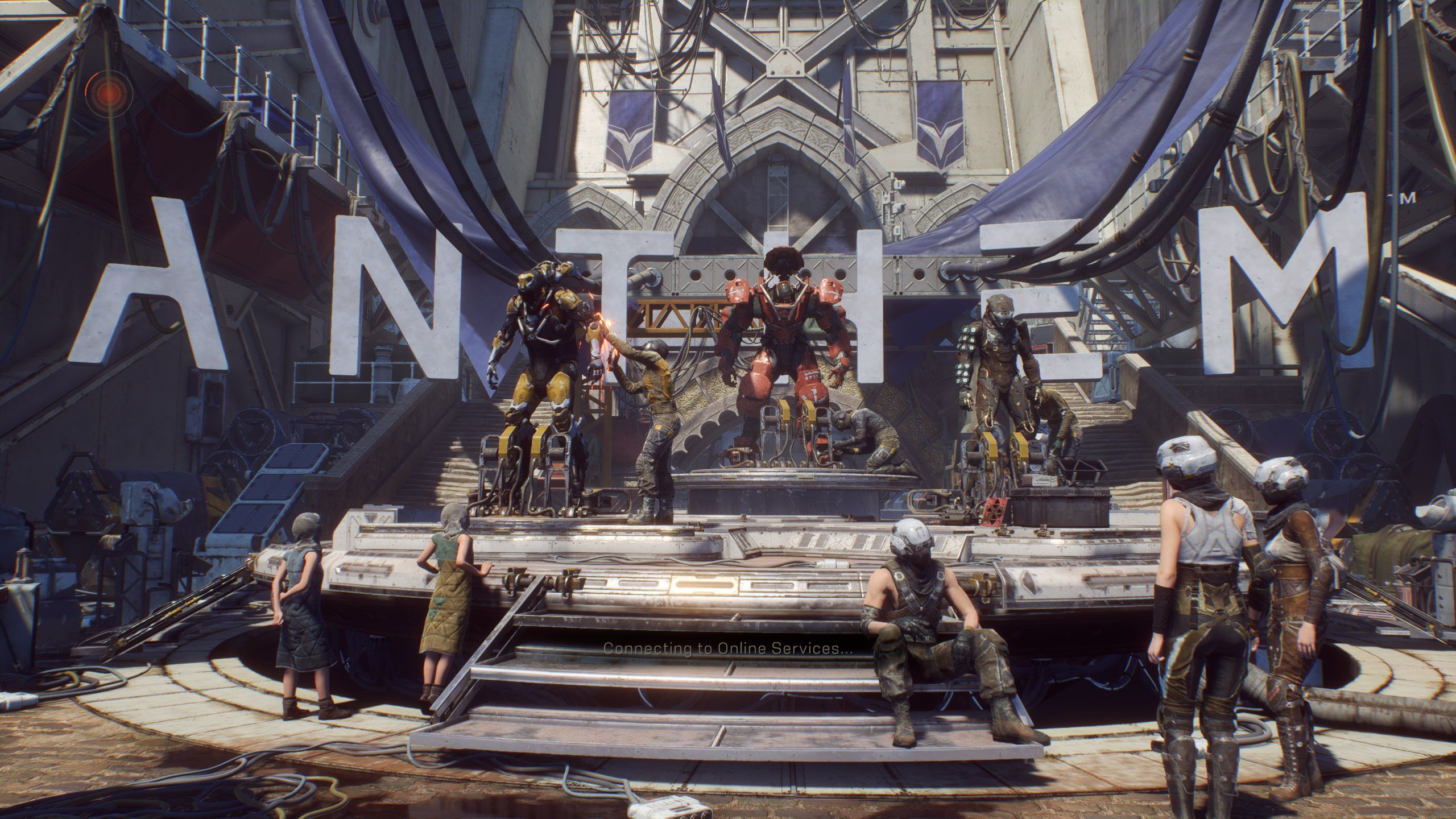 Anthem Connecting to Online Services