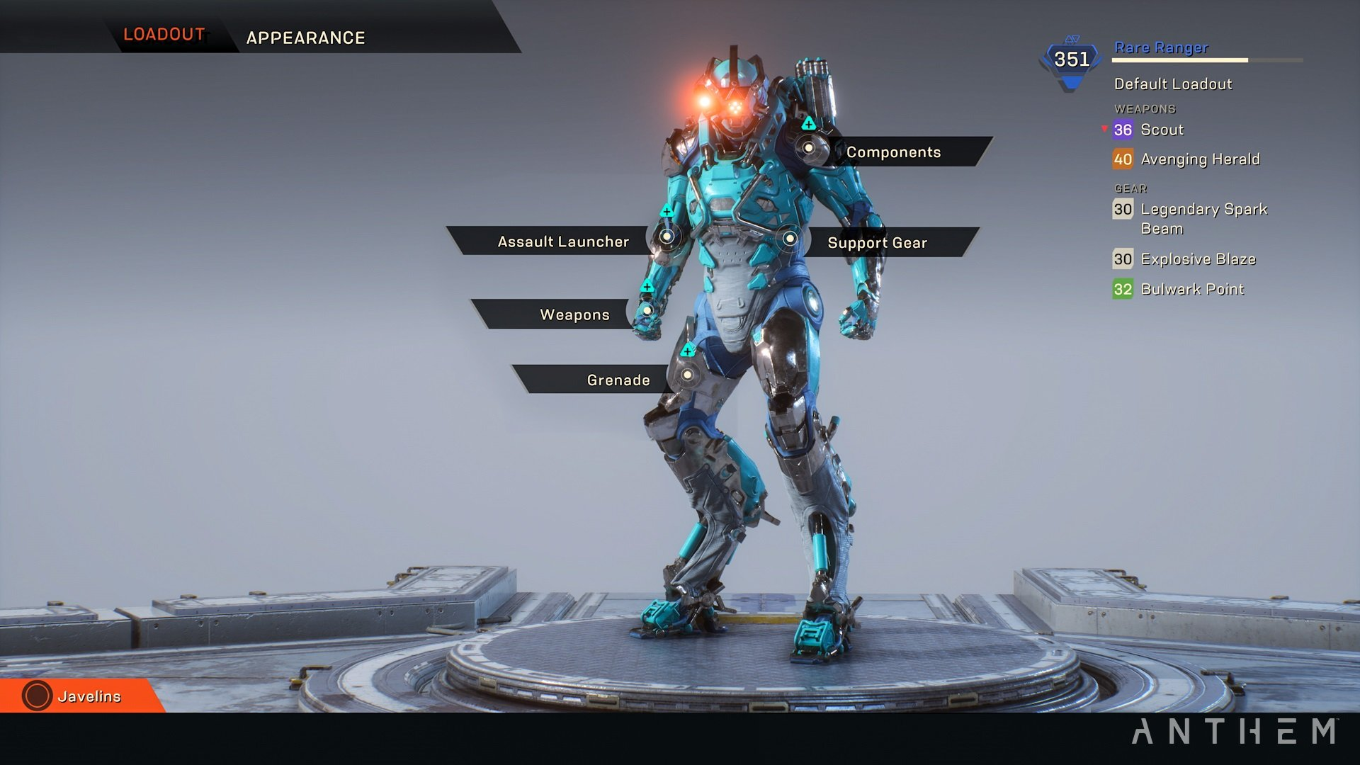 Anthem hands-on preview - Customization