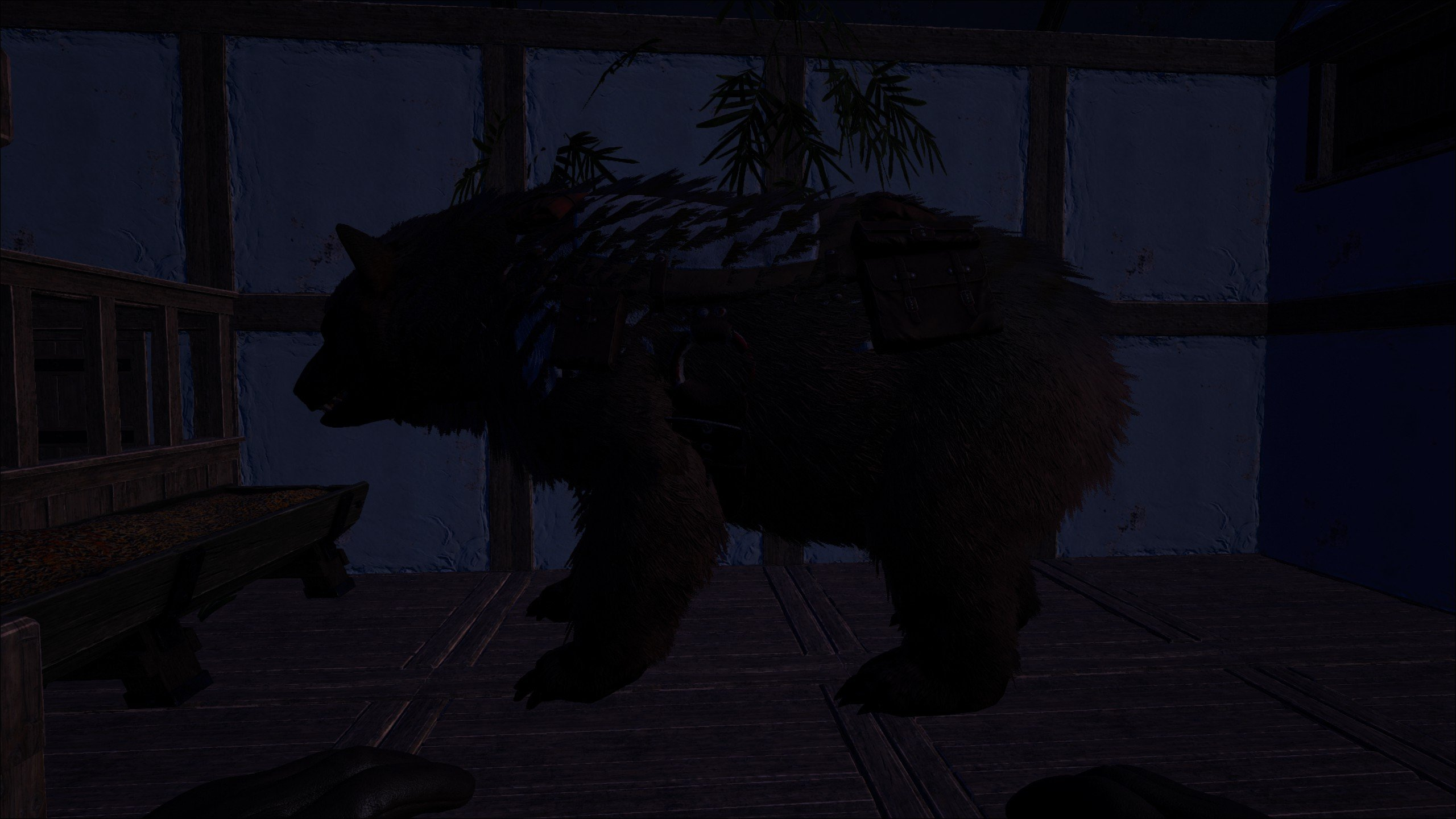 Atlas tamed bear