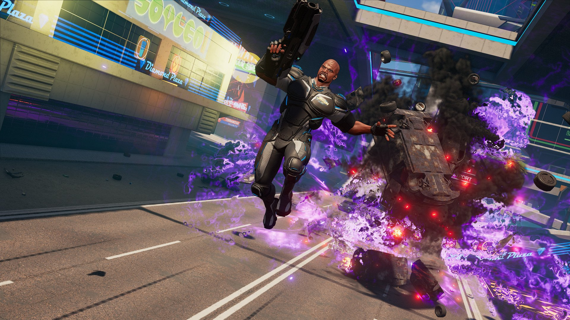 Crackdown three screenshot