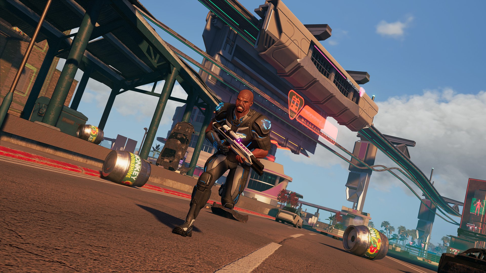 Crackdown three explosive screenshot