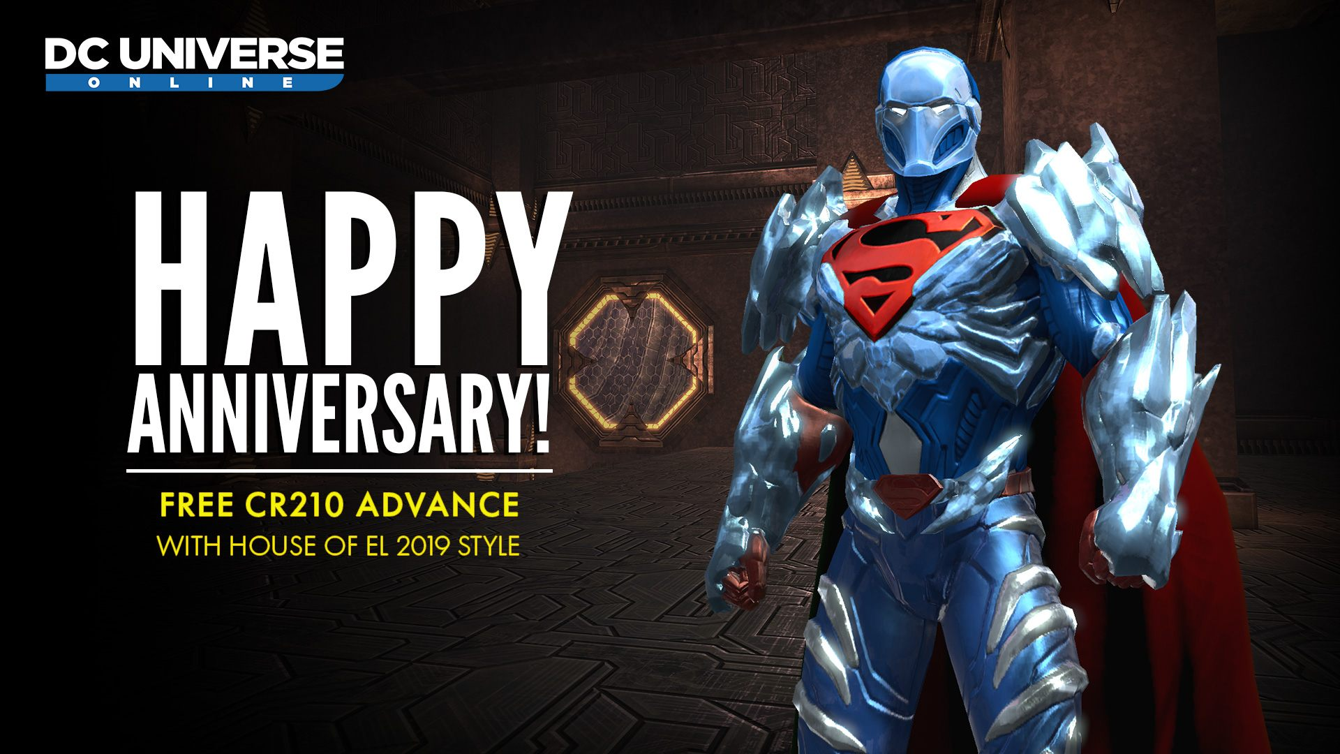 dc universe online free gift cr210 character advance house of el