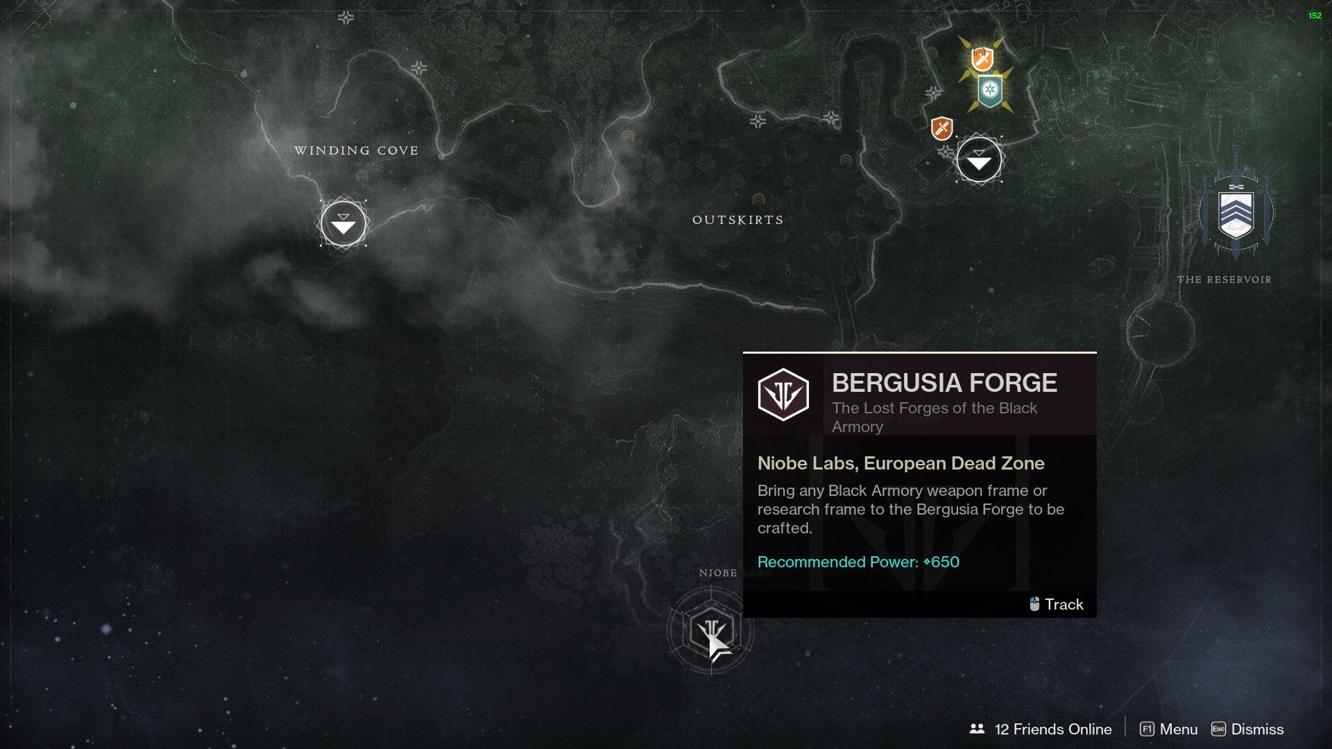 Destiny 2 Jotunn Bergusia forge