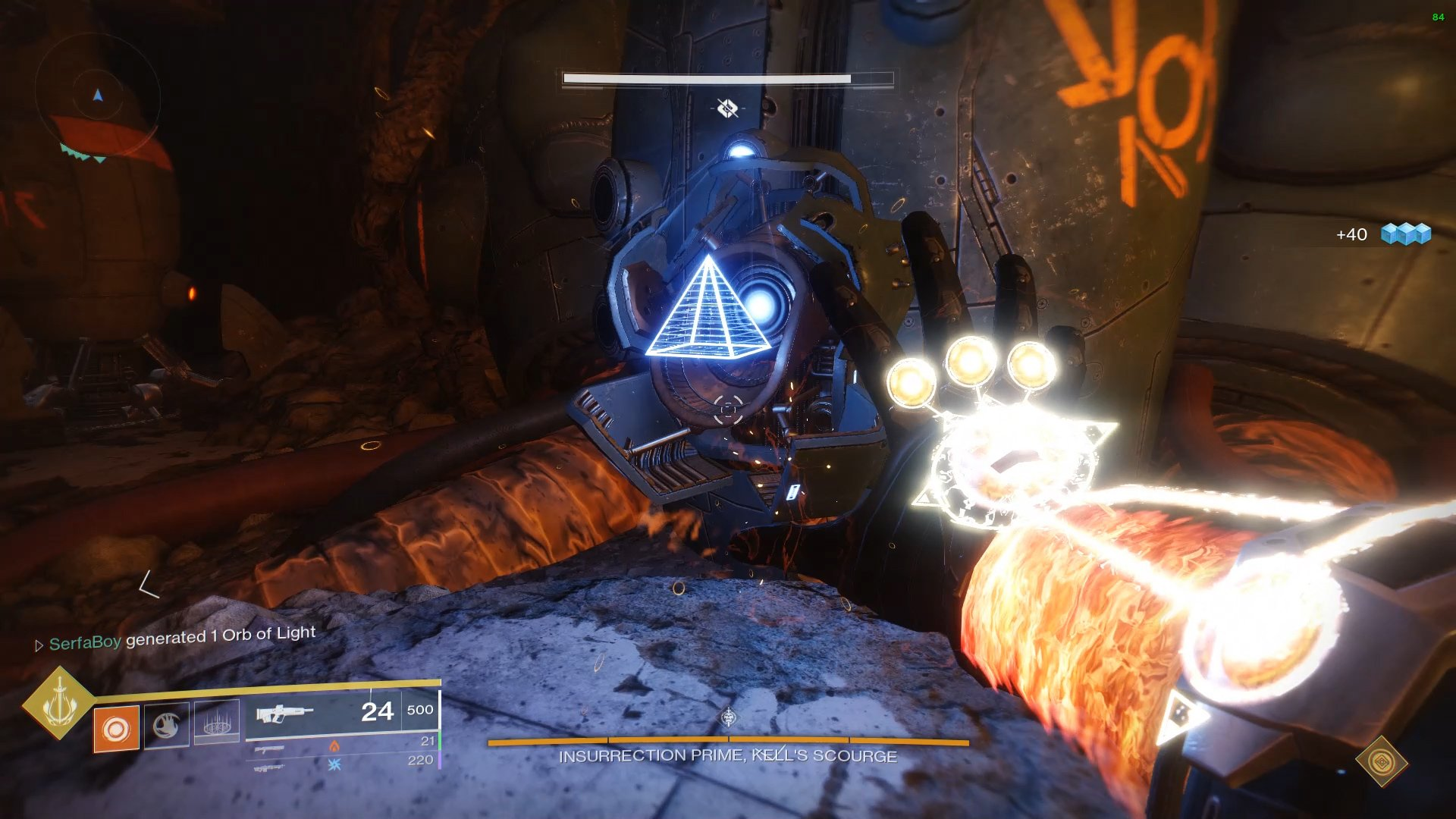 Players below ground will need to find a shape and melee it before the above team resets the generators.