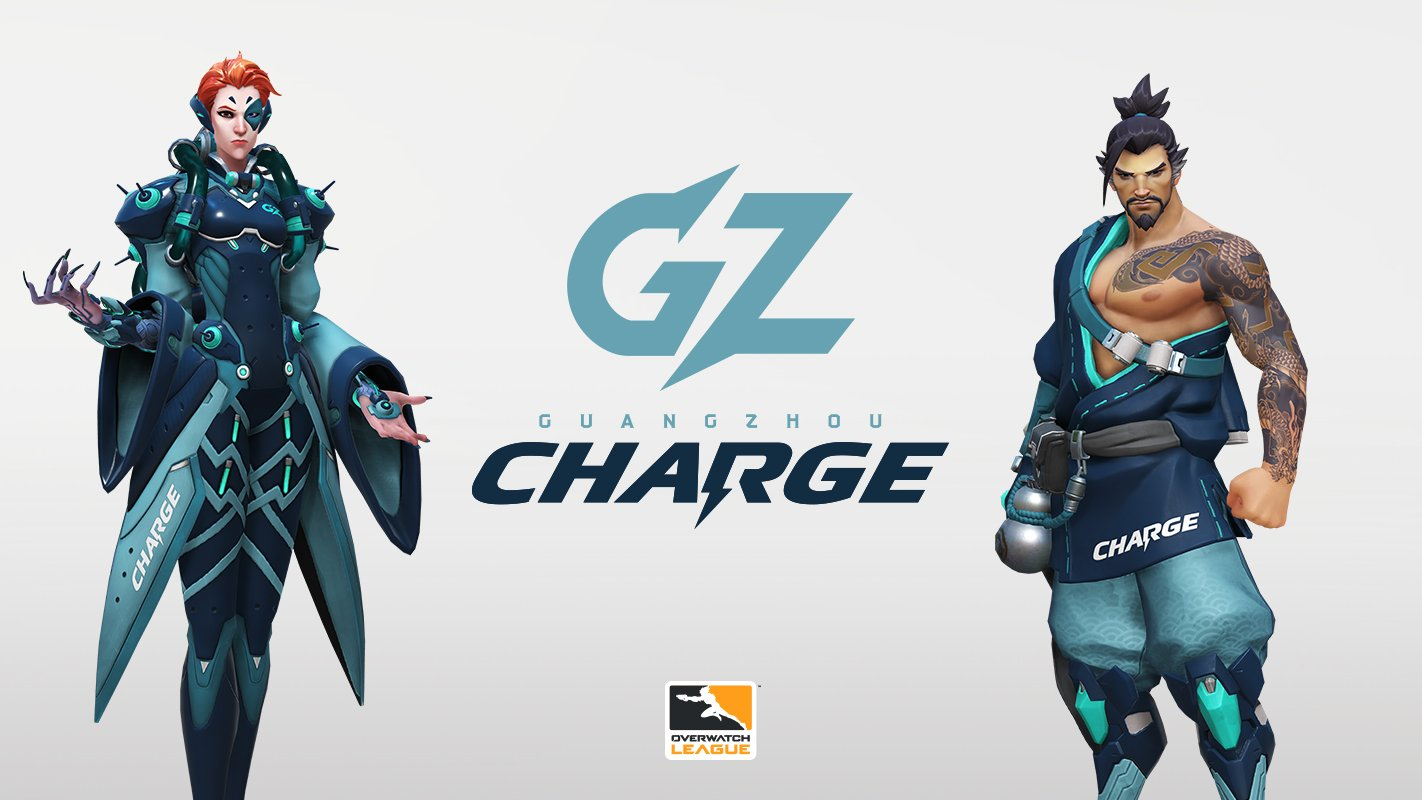Overwatch League Season 2 - Guangzhou Charge