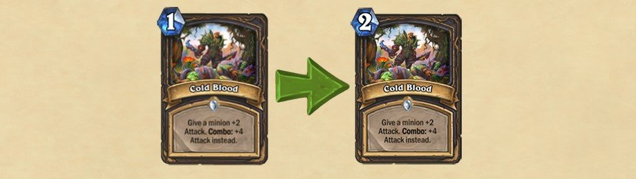 Hearthstone Update - Cold Blood