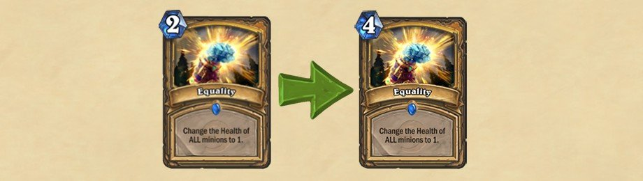 Hearthstone Update - Equality