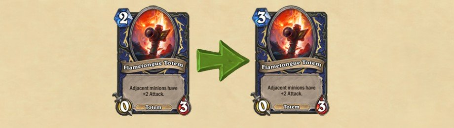 Hearthstone Update - Flametongue Totem