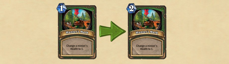 Hearthstone Update - Hunter's Mark