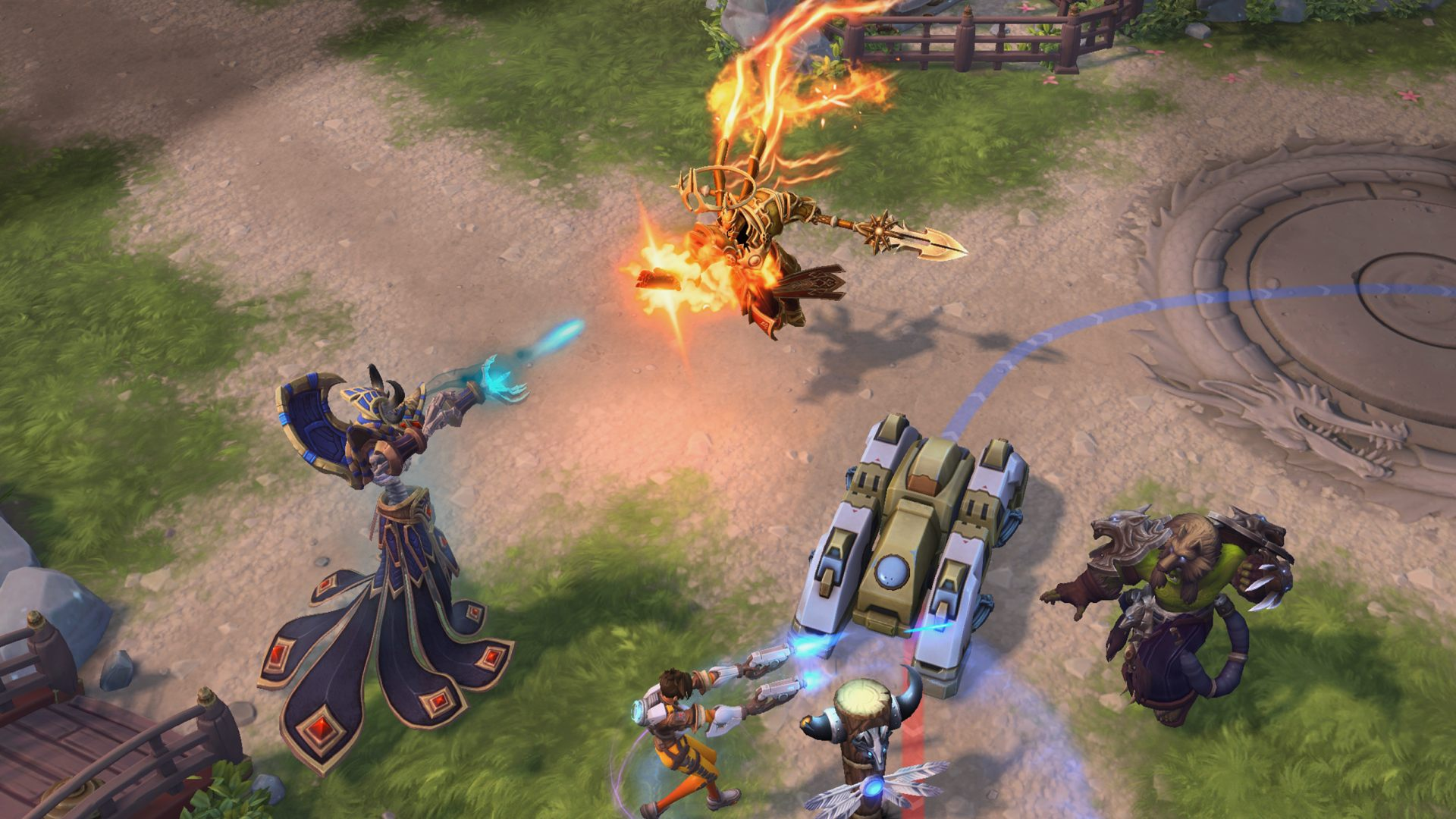 heroes of the storm new hero imperius ptr public test realm server info
