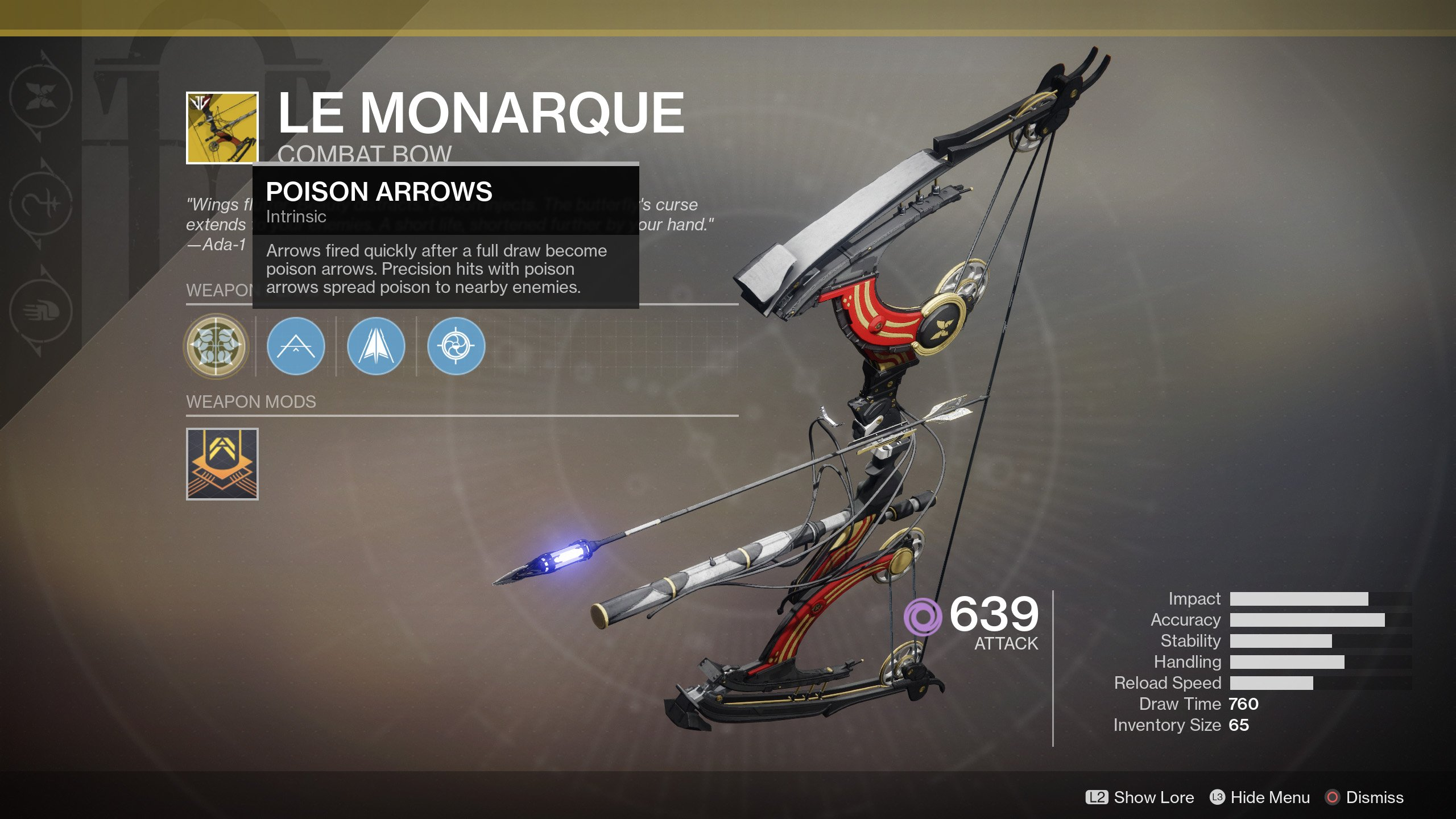 How to Get Le Monarque in Destiny 2